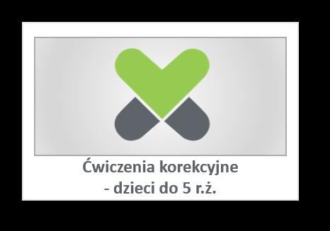 Ćwiczenia korekcyjne - dzieci do 5 r.ż.