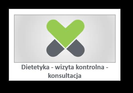 Dietetyka - wizyta kontrolna - konsultacja